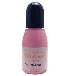 Delicata täyttöpullo, sävy Pink Shimmer
