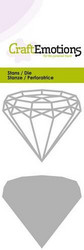 CraftEmotions Wire Shape Diamond -stanssisetti