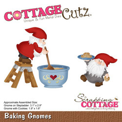 CottageCutz stanssisetti Baking Gnomes