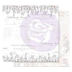 Prima Lavender Frost -skräppipaperi My Confession