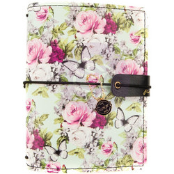 Prima Traveler's Journal Passport -kannet, Misty Rose