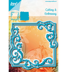 Joy! Crafts stanssisetti Swirl Square