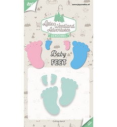 Joy! Crafts stanssisetti Baby Feet