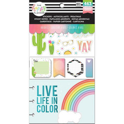 Mambi Happy Planner Note Cards/Sticky Note -pakkaus, Brights