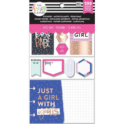 Mambi Happy Planner Note Cards/Sticky Note -pakkaus, Boss Babe