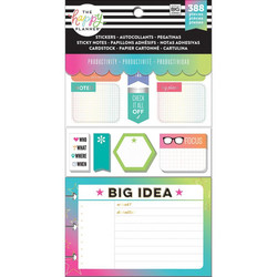 Mambi Happy Planner Note Cards/Sticky Note -pakkaus, Productivity
