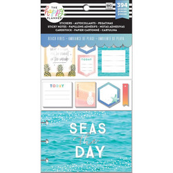 Mambi Happy Planner Note Cards/Sticky Note -pakkaus, Beach Vibes