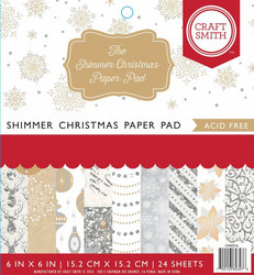 Craft Smith paperipakkaus The Shimmer Christmas