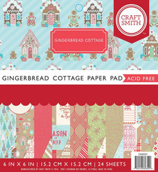 Craft Smith paperipakkaus Gingerbread Cottage
