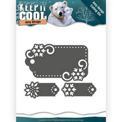 Amy Design Keep It Cool stanssisetti Cool Tags