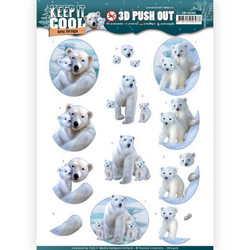 Amy Design Keep It Cool 3D-kuvat Cool Polar Bears