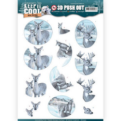 Amy Design Keep It Cool 3D-kuvat Cool Deers