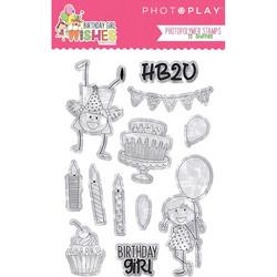 PhotoPlay leimasinsetti Birthday Girl Wishes