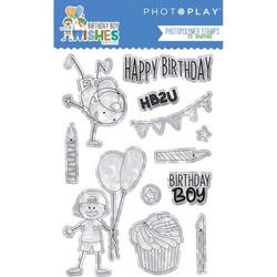 PhotoPlay leimasinsetti Birthday Boy Wishes
