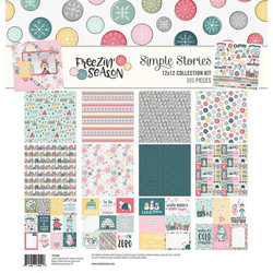 Simple Stories Freezin Season Collection Kit -paperipakkaus