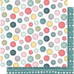 Simple Stories Freezin Season skräppipaperi Brrrlow Zero