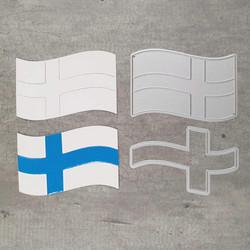 Stanssisetti Suomen lippu