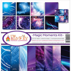 Ella & Viv Magic Moments -paperipakkaus 12