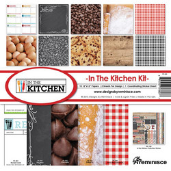 Reminisce In The Kitchen -paperipakkaus 12