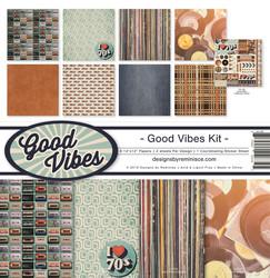 Reminisce Good Vibes -paperipakkaus 12