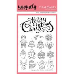 Uniquely Creative leimasinsetti Christmas Cookies