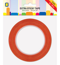 Extra Sticky Tape - Voimateippi 6 mm XL, 25 m