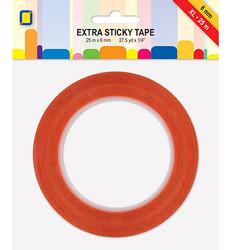 Extra Sticky Tape - Voimateippi 6 mm XL, 25 m