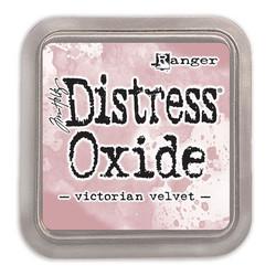 Distress Oxide -mustetyyny, sävy victorian velvet
