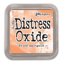 Distress Oxide -mustetyyny, sävy dried marigold