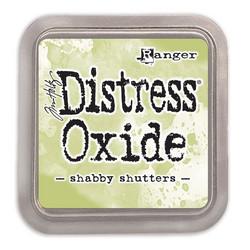 Distress Oxide -mustetyyny, sävy shabby shutters