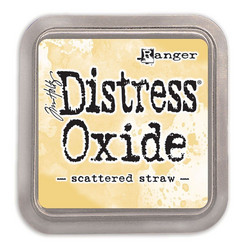 Distress Oxide -mustetyyny, sävy scattered straw