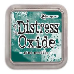 Distress Oxide -mustetyyny, sävy pine needles