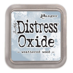 Distress Oxide -mustetyyny, sävy weathered wood