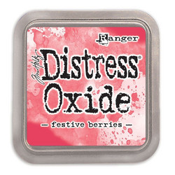Distress Oxide -mustetyyny, sävy festive berries