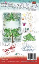Polkadoodles Heartfelt Tree  -leimasinsetti