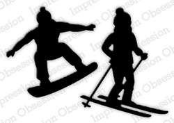 Impression Obsession Skier & Snowboarder -stanssisetti