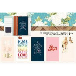 Webster's Pages Travel Notebook Sticker Wallpaper -tarrat, Colors Quotes