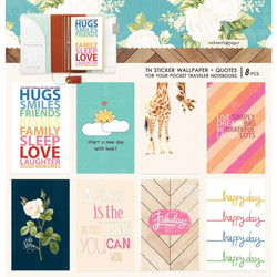 Webster's Pages Pocket Travel Notebook Sticker Wallpaper -tarrat, Colors Quotes