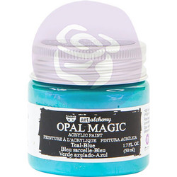 Finnabair Art Alchemy akryylimaali. Sävy Opal Magic Teal/Blue