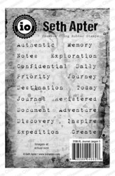 Seth Apter leimasinsetti Journal Jargon