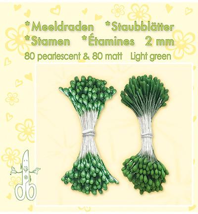 Leane Creatief Heteet, 2 mm. 160 kpl. Sävy vihreä