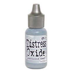 Distress Oxide täyttöpullo, sävy weathered wood
