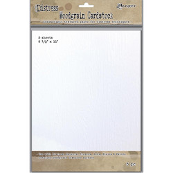 Tim Holtz Distress Woodgrain -paperipakkaus, 5 arkkia