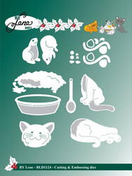 By Lene Dies stanssisetti Cats and Mouses