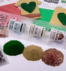Wow! Embossing Glitters  -kohojauheet, sävy Christmas Cracker