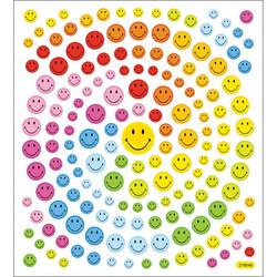 Sticker King tarrat Happy Face Glitter