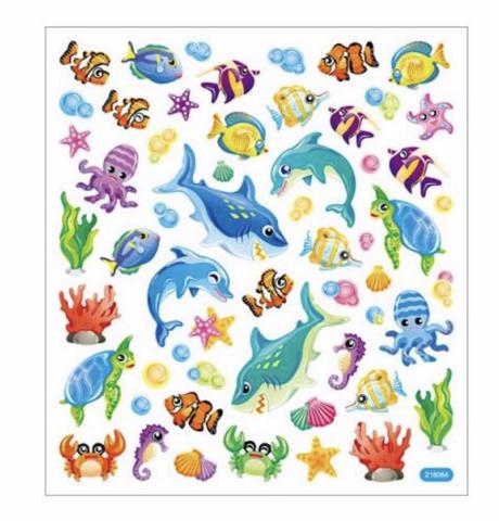 Sticker King tarrat Marine Life