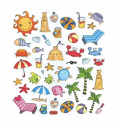 Sticker King tarrat Summer Icons