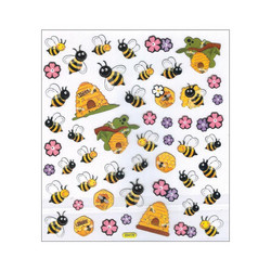 Sticker King tarrat Spring Bees and Hives