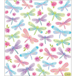 Sticker King tarrat Dragonflies Glitter
